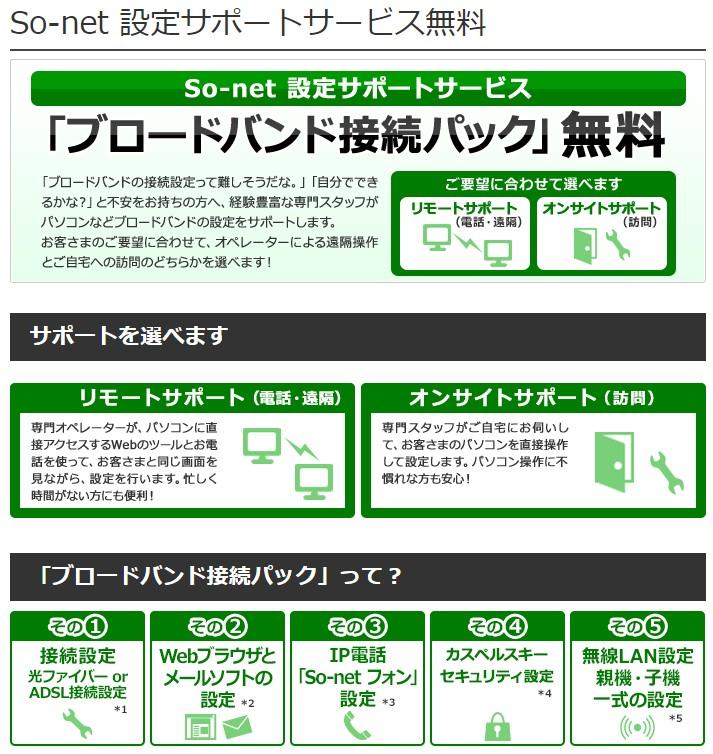 so-netサポート