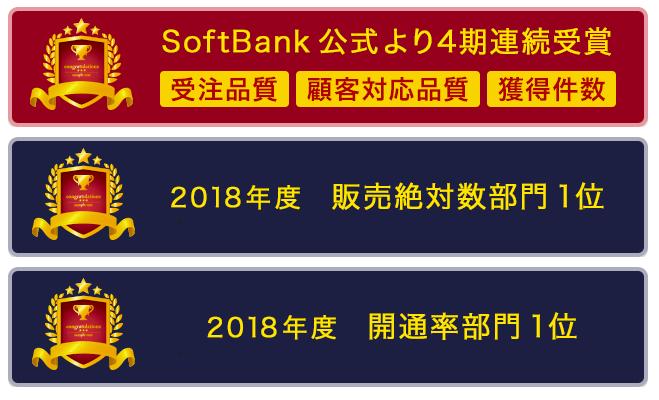 N'sカンパニーSoftBank受賞履歴